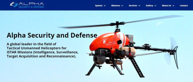 Alpha Unmanned Systems Introduces a new Military & Security Focused Division