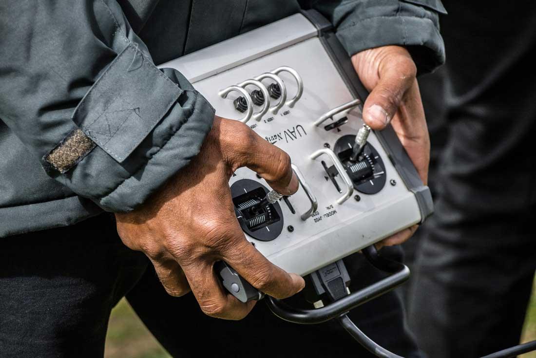 Alpha 800 controls
