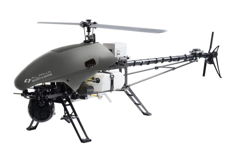 The Alpha 800: The first tactical UAV Helicopter with autorotation that minimizes risk and works the way it should