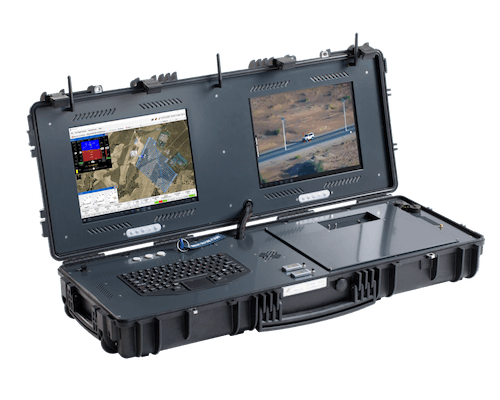 Long Range UAV Missions via G-Case Duo Ground Control Station