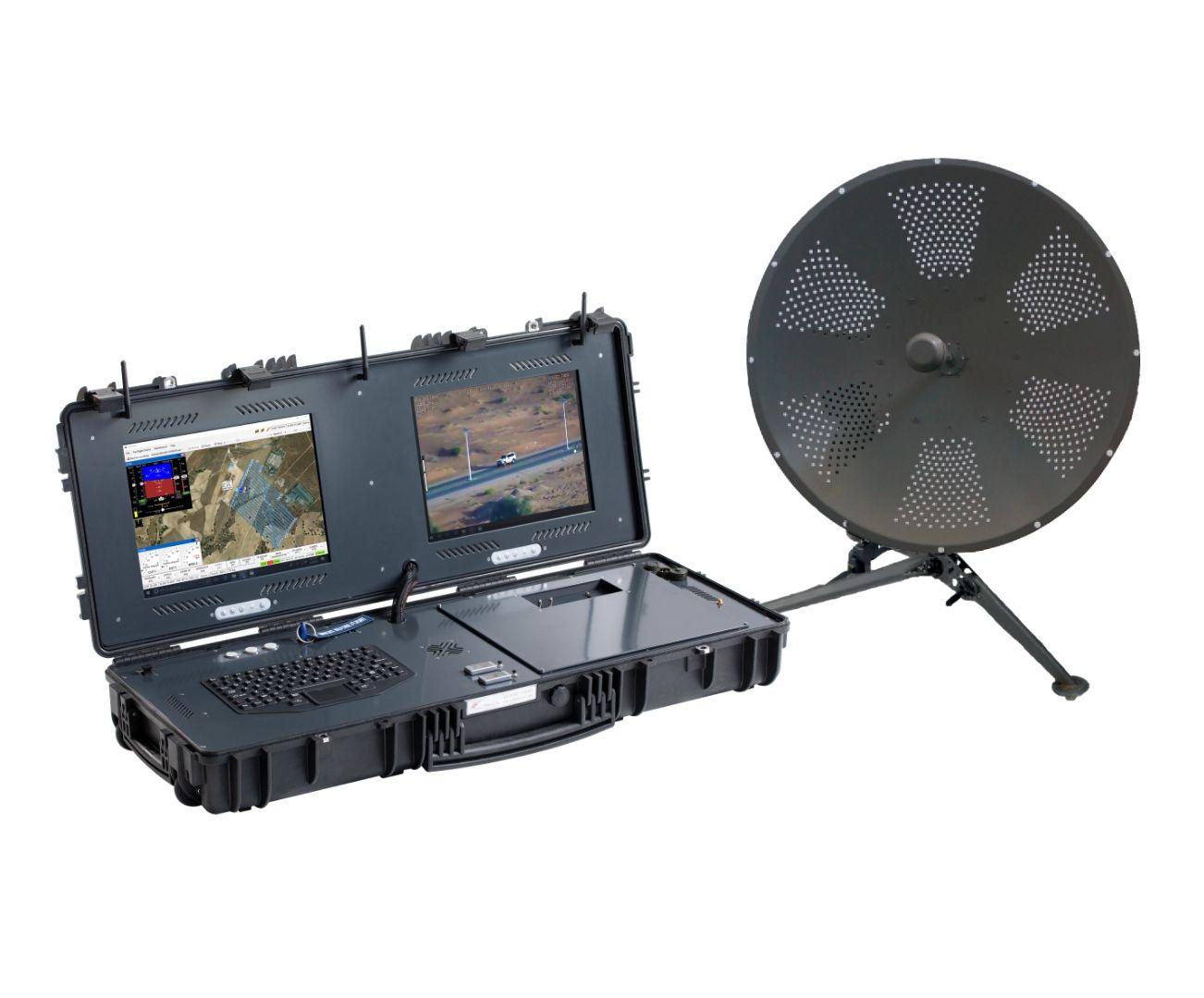 Long Range UAV control, G-Case Duo plus antenna